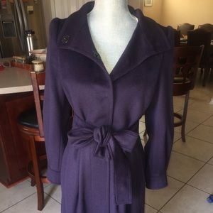 Carolina Herrera Wool Coat Size 6